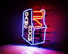 "GAME ROOM Man Cave Bar Neon Signs Custom Cyber Digital Display Light UK 18""x14"""