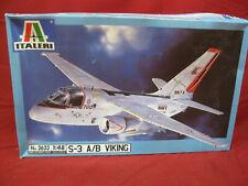 1/48 Italeri S-3 A/B Viking Kit No 2623 Model Airplane