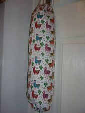 Cartoon Llarmas Carrier Bag Holder/Dispencer  Homecrafted Shabby Chic  x