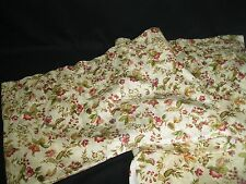 BEAUTIFUL CUSTOM MADE FLORAL Lined LARGE WINDOW VALANCE 212X31X16 GUC!