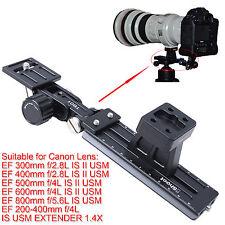 Teleobjektiv Halter f Canon EF 200-400mm f/4L IS USM EXTENDER 1.4X Stativschelle