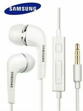 Samsung EHS64-In-Ear Tangle free Earphone with Built in Mic & 3 buttons (White)