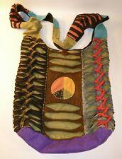 "The Collection Royal ""Peace"" Hippie Crossbody Bag Handmade Nepal"