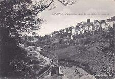# MARINO: PANORAMA VERSO LA STAZIONE FERROVIARIA   1955