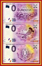 Lot Billets Touristique Souvenir 0 euro - ALLEMAGNE - UEFA EURO 2020 Foot
