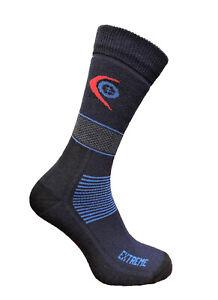 Trekking Extreme Warm Socks Winter Thick Hiking Endurance Outdoor Blue 3 sizes