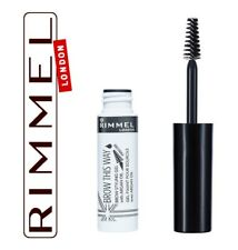 Rimmel - Brow This Way - Brow Styling Gel With Argan Oil - Clear - 5ml -