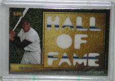 2016 Hits Memorabilia Hall Of Fame H-6 WILLIE MAYS JERSEY RELIC 2/2!!
