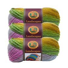 Lion Brand Yarn 545-209 Landscapes Yarn, Wild Flowers (Pack of 3 skeins)