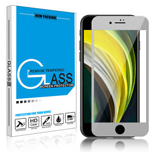 For iPhone 12 Pro Max 11 X XS XR 7 8 Full Cover Tempered Glass Screen Protector
