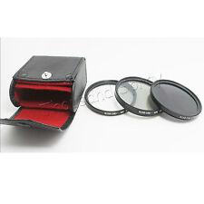 52MM UV CPL ND8 Filter Kit for Nikon D5200 D5100 D3200 D3100 D7100 D7000 18-55MM