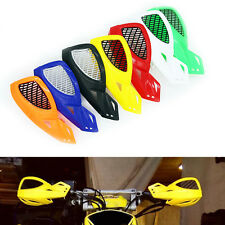 "2pc 7/8"" Handlebar Motorcycle Hand Guard Protection Universal Dirt Bike ATV"