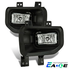 2015 2016 2017 Ford F150 Pickup Replacement Driving Bumper Fog Lights Pair