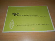 Klavier Noten - Wiener Hofball Menuette - für Klavier zu 4 Händen - Haydn