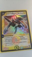 Duel Masters TCG Craze Valkyrie, the Drastic S1/S10 Super rare Near mint