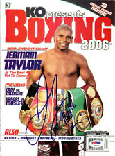 Jermain Taylor Autographed Signed Boxing 2006 Magazine Cover PSA/DNA COA S50652