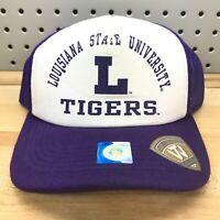 Louisiana State University LSU Tigers NCAA College Vault TOW Trucker Hat NWT