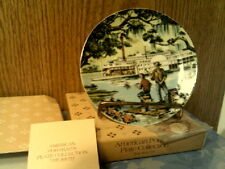 VTG 1985 AVON AMERICAN PORTRAITS PLATE COLLECTION THE SOUTH-NEW IN BOX-FREE SHIP