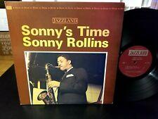 Sonny Rollins - Sonny's Time JAZZLAND JLP-972 DEEP GROOVE ON SIDE 1 LP