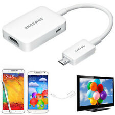 Micro USB MHL 2.0 to HDMI 1080P HDTV Cable Adapter For Samsung Galaxy S5 S4 S3