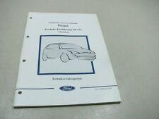 FORD FOCUS 1998 Technisches Service Training 00/273