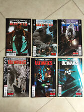 MARVEL COMICS ULTIMATE COMICS THE ULTIMATES 7, 8, 9, 10, 11 & 12 (6 COMICS)