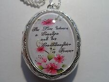 """LOCKET LOVE BETWEEN A GRANDPA AND GRANDDAUGHTER IS FOREVER 26"""""""
