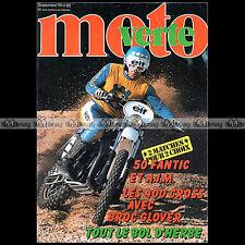 MOTO VERTE N°65 MAÏCO 440 MC SUZUKI RM 400 YAMAHA YZ KTM 420 MC SUE FISH 1979