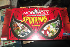 SpideRman  Monopoly Limited Collector's Edition  New & Sealed