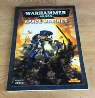 SPACE MARINE CODEX - WARHAMMER 40K - GAMES WORKSHOP - 2008 EDITION