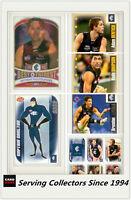 2006 Herald Sun AFL Trading Card MASTER TEAM CARD COLLECTION-CARLTON