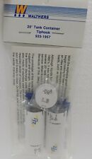 Walthers HO Scale 20' Tank Container Kit Tiphook #933-1957 NIB