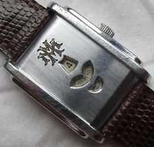 Digital Type mens wristwatch nickel chromiun case load manual all original