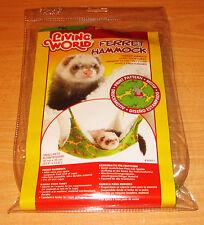 NEW COSY Hanging/ Swing Fur Lined Ferret & Rat Deluxe Snuggle HAMMOCK