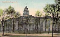 D64/ Augusta Georgia Ga Postcard c1915 Court House Building