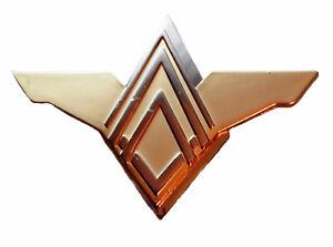 Space TV Show Battlestar Galactica Commander Gold Dress Uniform Logo Pin