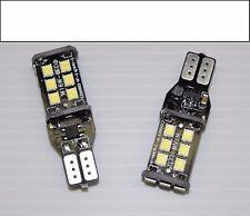2x BMW ERROR FREE! 168 194 2825 T10 White Reverse / Backup LED lights