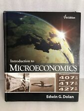 Introduction To Microeconomics 4th Edition by Edwin G Dolan