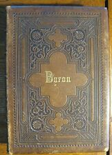 The Illustrated Byron, Leather Binding, with Upwards of 200 Engravings, ca 1879