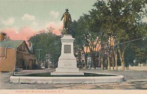 ROCHESTER NH – Parson Main Monument - udb (pre 1908)