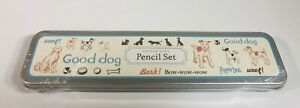 Cavellini & Company Vintage Dogs Good Dog Pencil Set 2013 New