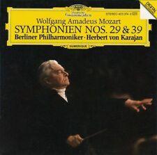 Mozart: Symphonien Nos. 29 & 39 Herbert von Karajan/Bpo