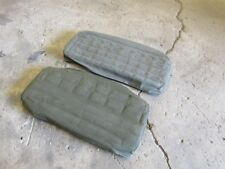 "Jeep Willys M38 M38A1 NOS LOWER rear seat cushion EARLY ""S"" style springs"