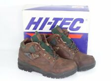 Vintage 90s New Hi Tec Mens 10 Aspen Leather Outdoor Trail Ankle Hiking Boots