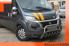 !!!+!FIAT DUCATO TUBO PROTEZIONE MEDIUM BULL BAR INOX STAINLESS STEEL