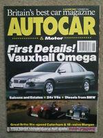 AUTOCAR MAGAZINE 17-NOV-93 - Audi S2 estate, Volvo 850 T5 estate, Morgan 4/4