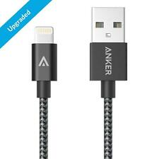 Anker 3ft Nylon Braided USB Cable with Lightning Connector for iPhone 6s 6