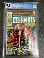 Eternals #10 CGC 9.8 HIGH GRADE Marvel Comic HOT MOVIE Jack Kirby