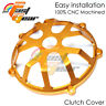 Gold CNC Billet Open Clutch Cover Ducati 1198 1098 999 749 998 996 916 CC01