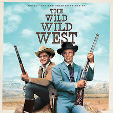 WILD WILD WEST Robert Conrad TV Soundtrack 4-CD Box Set LA-LA LAND Score NEW!